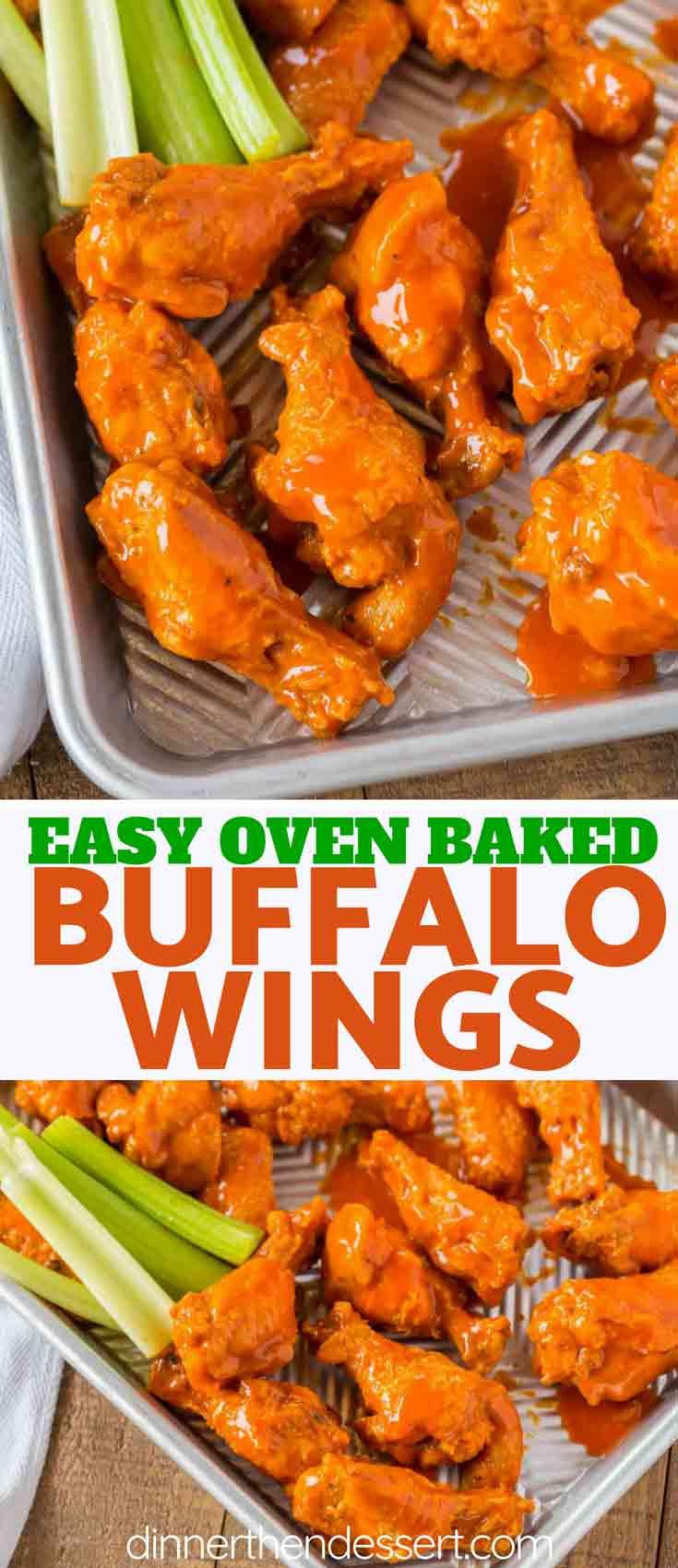 Buffalo Wings Dinner Then Dessert