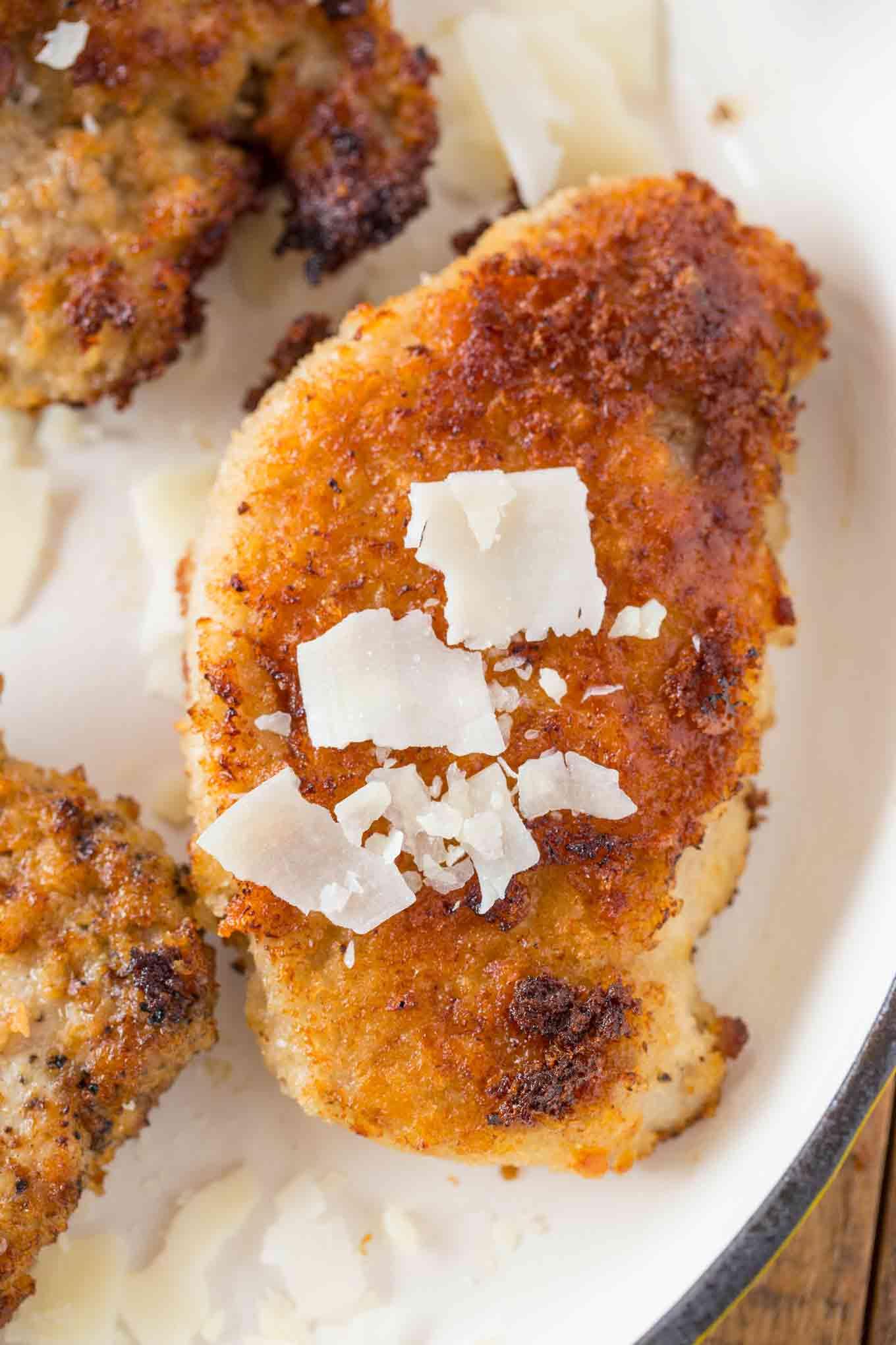 Parmesan Crispy Pork Chops