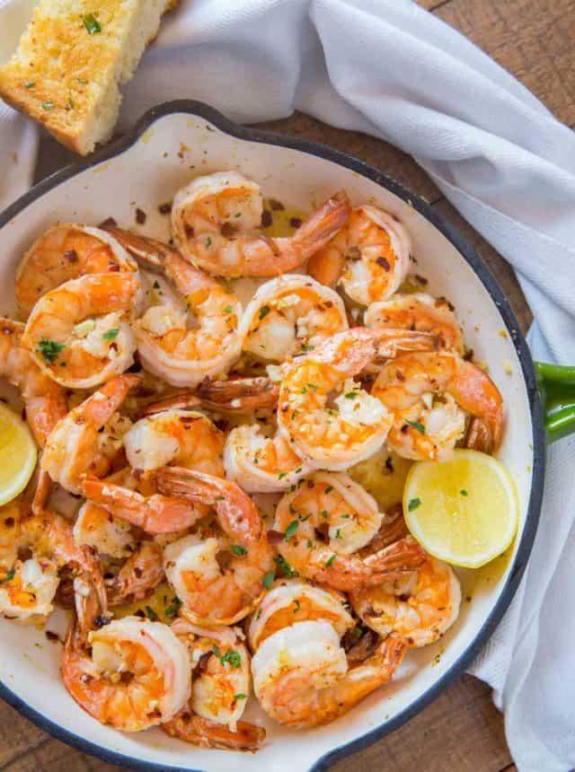 Buttery Shrimp Scampi