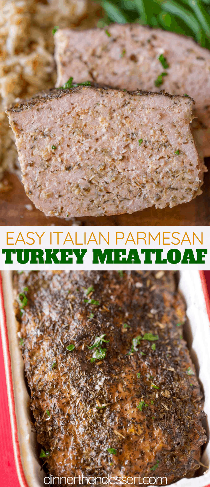 Turkey Meatloaf collage