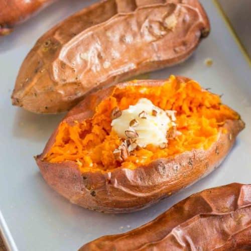 Easy Baked Sweet Potatoes Dinner Then Dessert