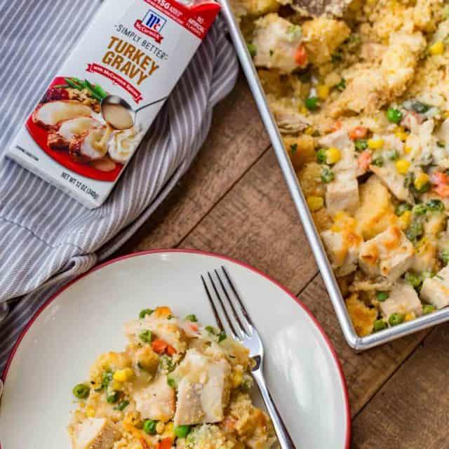 Easy Thanksgiving Leftover Casserole Recipe