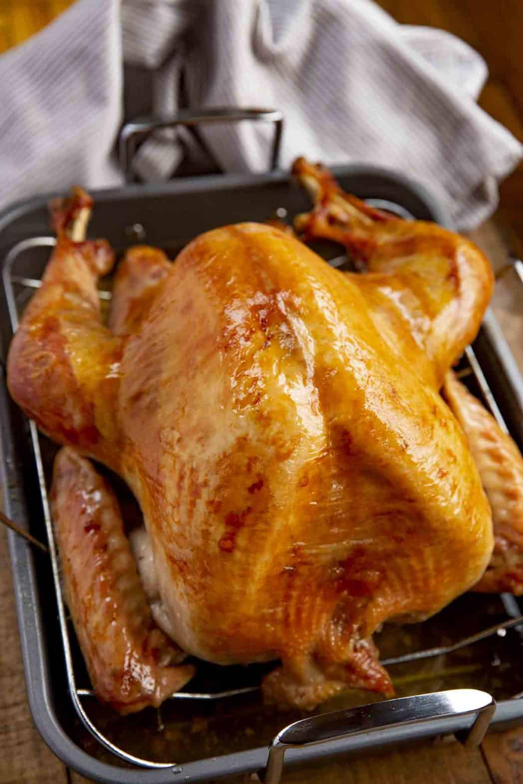 Roast Turkey Dinner Then Dessert