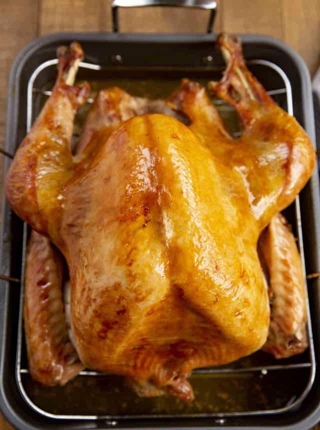 Crispy Skin Roast Turkey