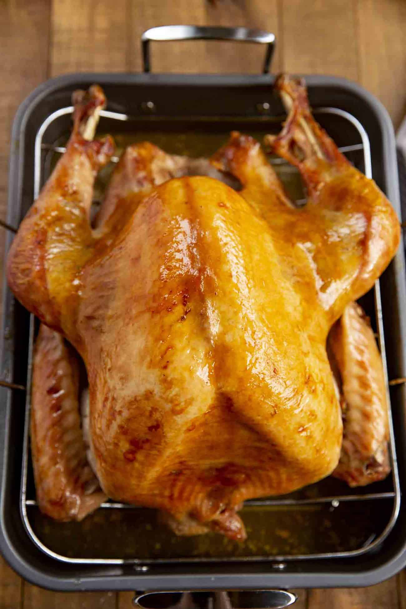 Crispy Skin Roast Turkey