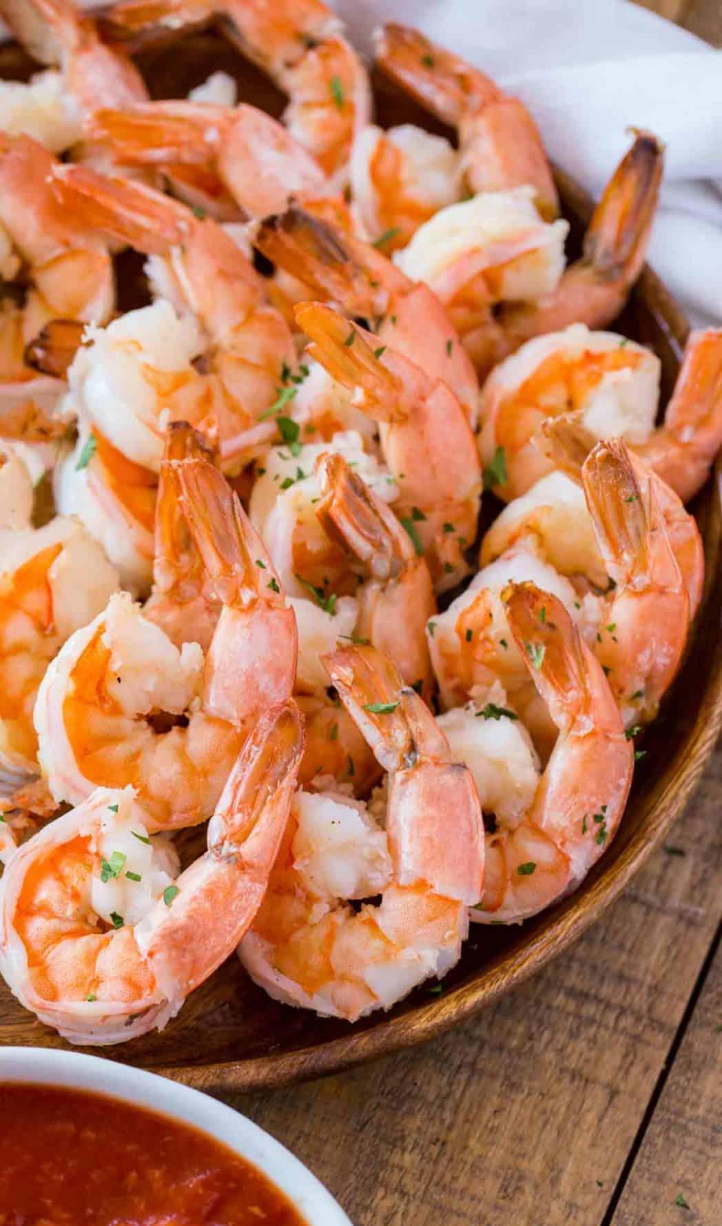 Shrimp Cocktail Dinner Then Dessert