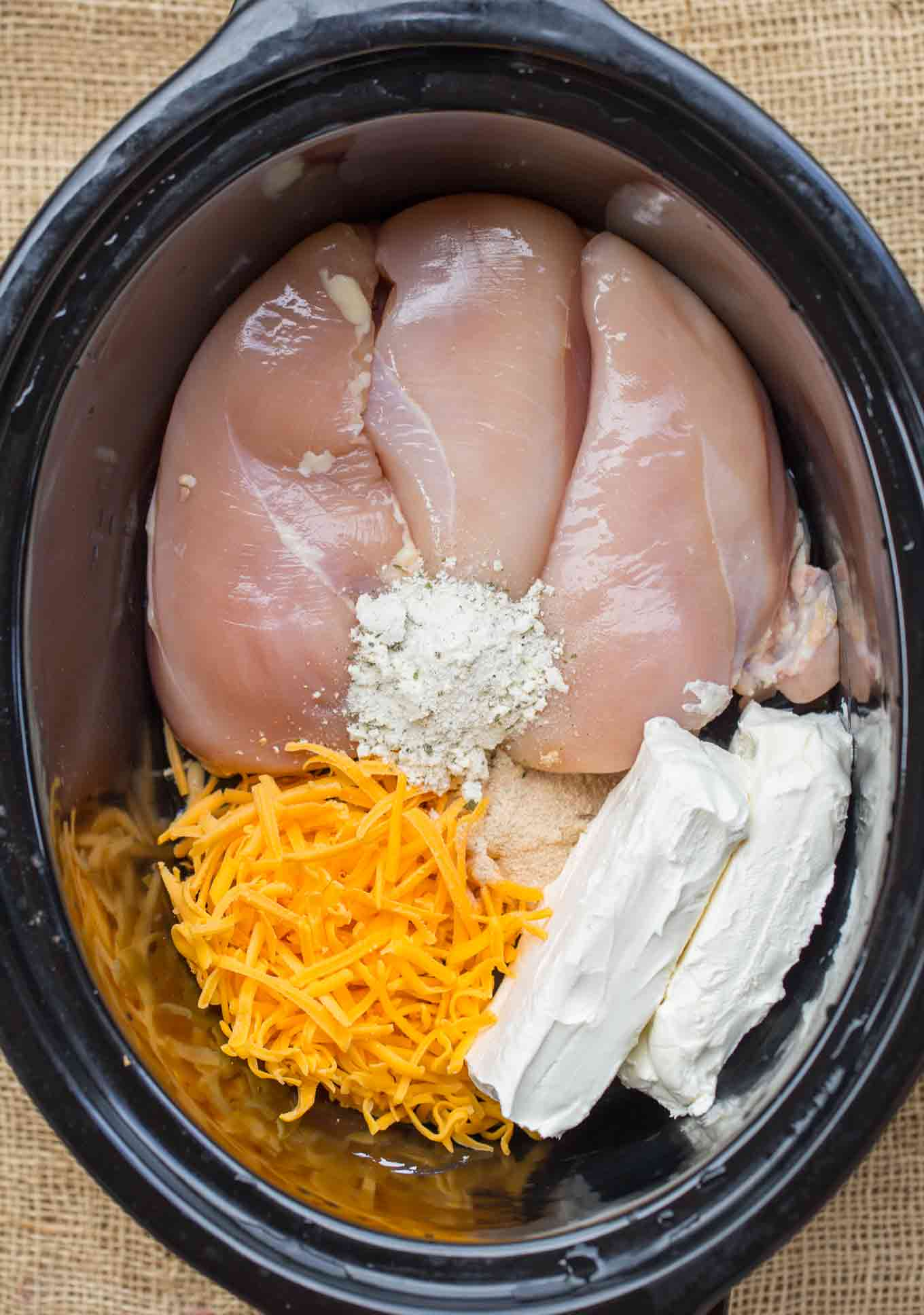 crockpot crack chicken tacos