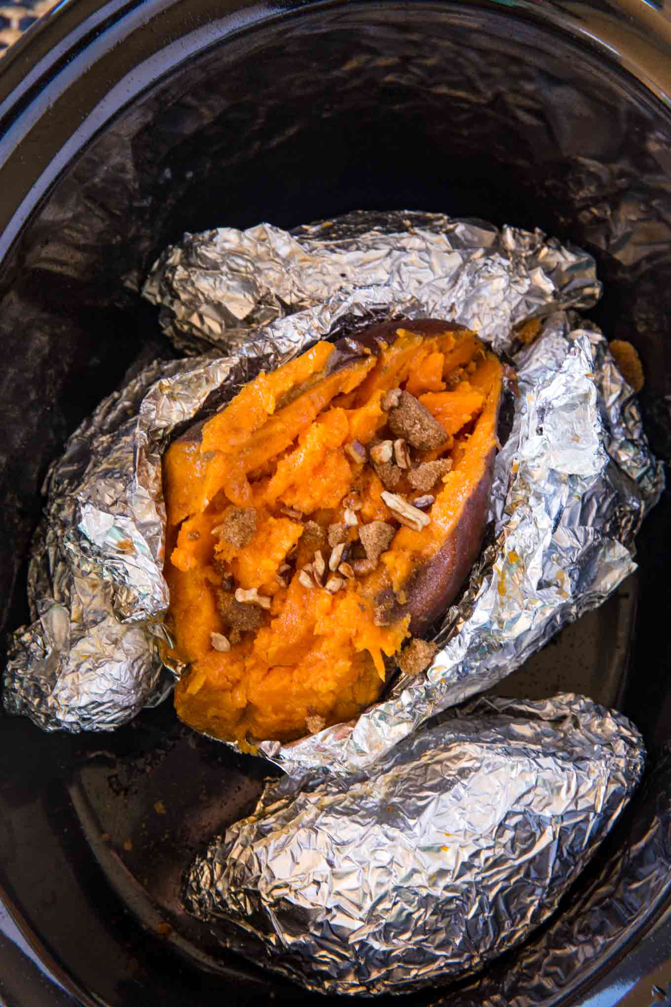 Slow Cooker Sweet Potatoes Dinner Then Dessert