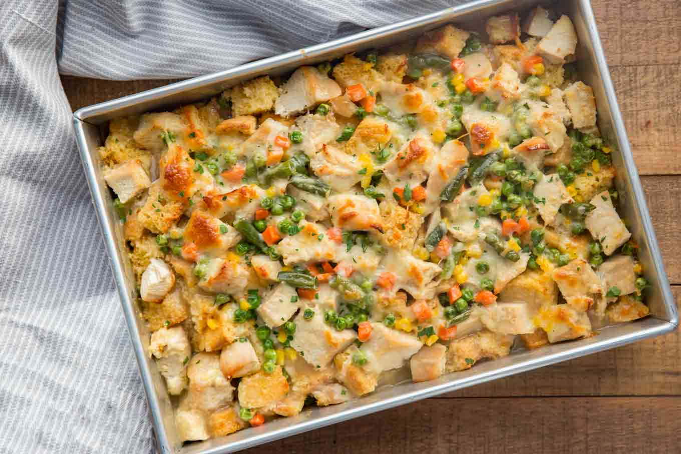Thanksgiving Turkey Casserole