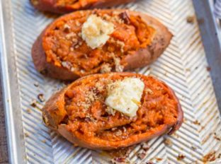 Twice Baked Candied Yams
