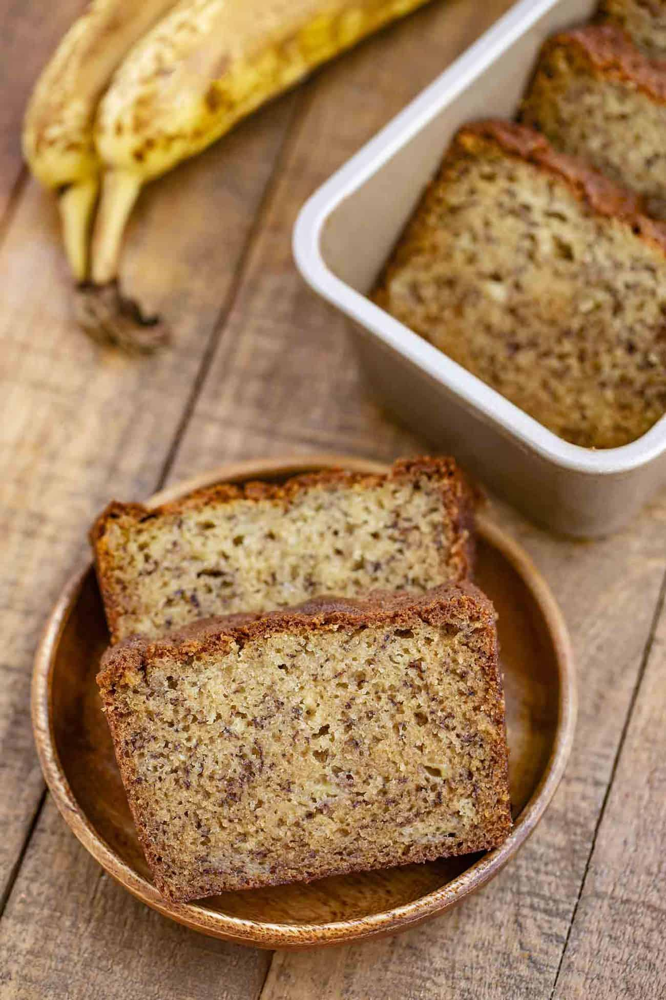 Easy Banana Bread No Mixer Dinner Then Dessert