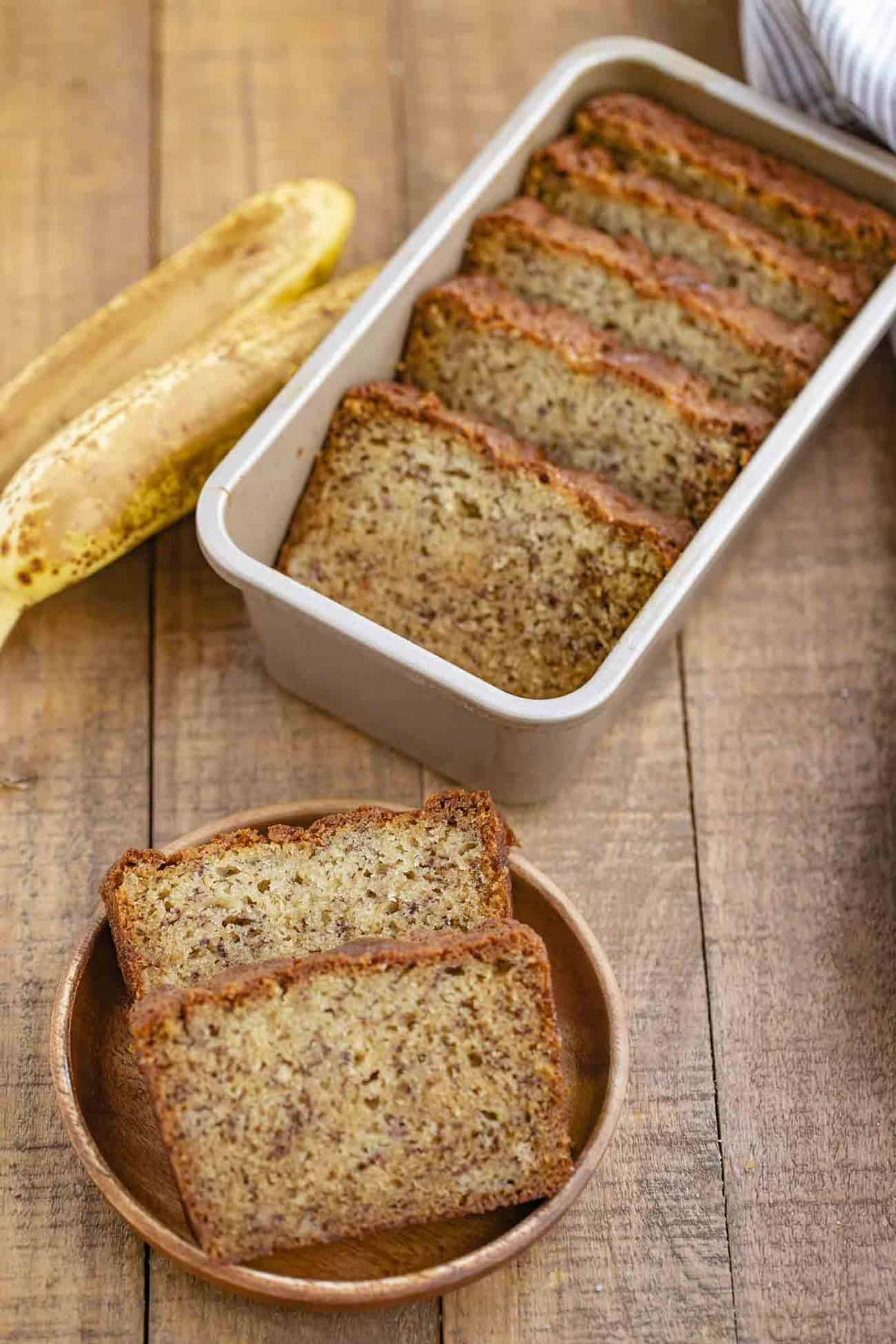 One Bowl Classic Banana Bread