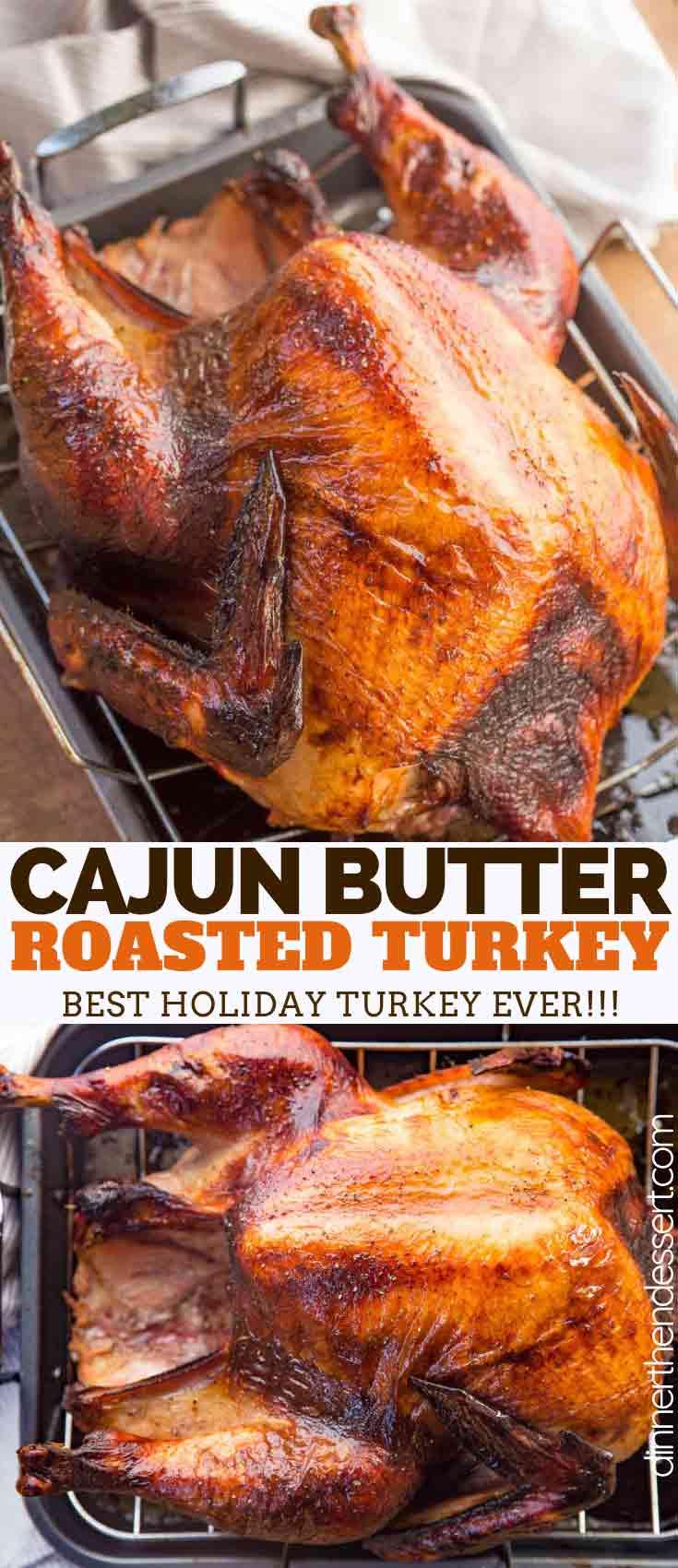Cajun Roasted Turkey Dinner Then Dessert