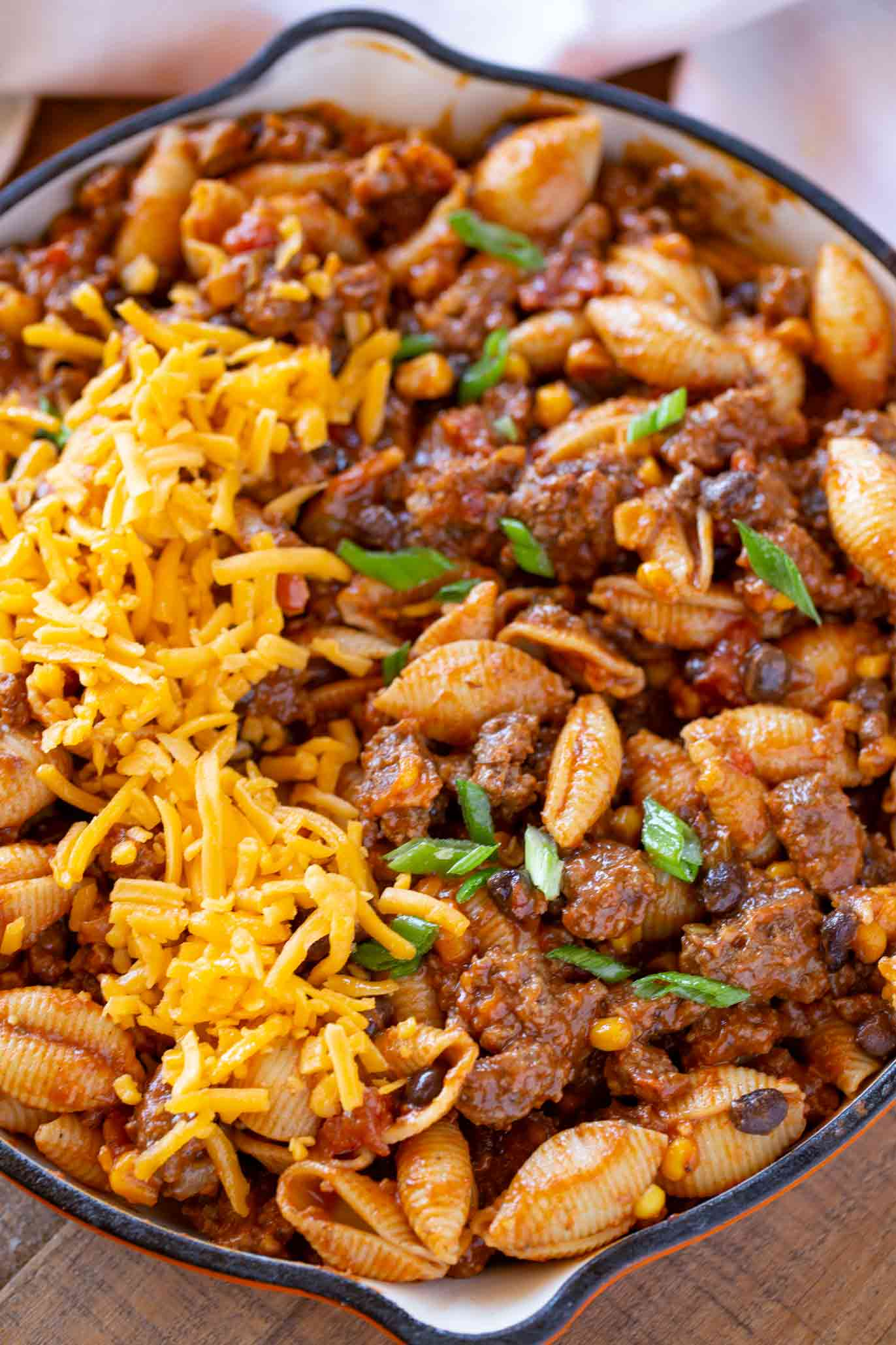 Cheesy Tex Mex Pasta