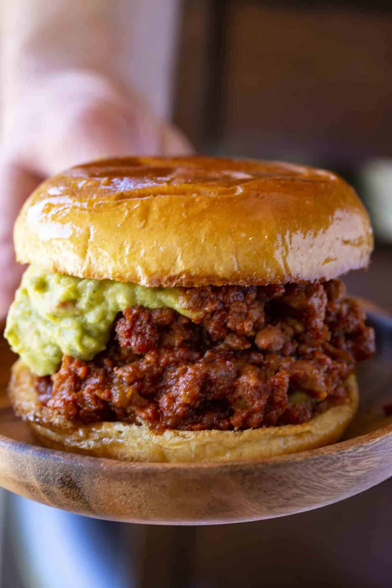 Chorizo Pork Sloppy Joes