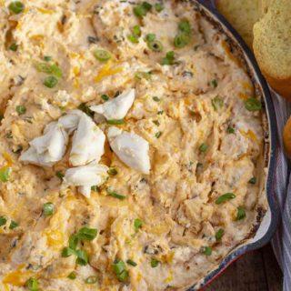 Cheesy Crab Dip
