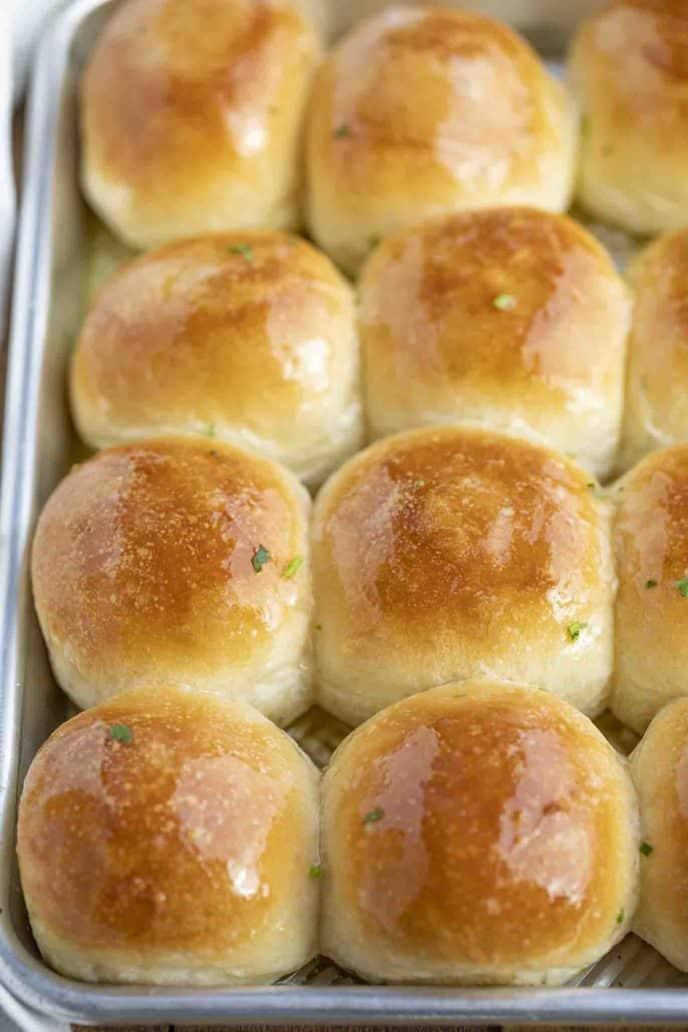 Homemade Buttery Rolls