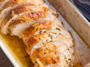 Crispy Roasted Turkey Breast