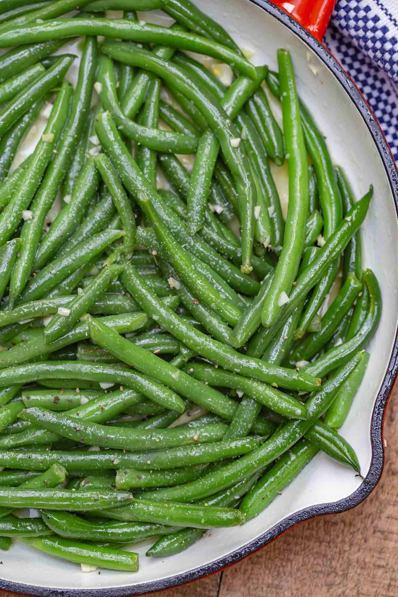 Sauteéd Green Beans