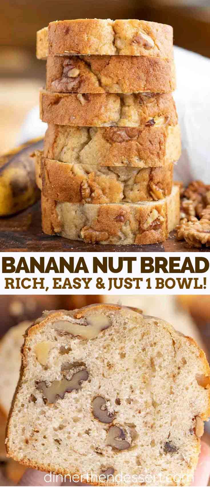 Banana Nut Bread Dinner Then Dessert