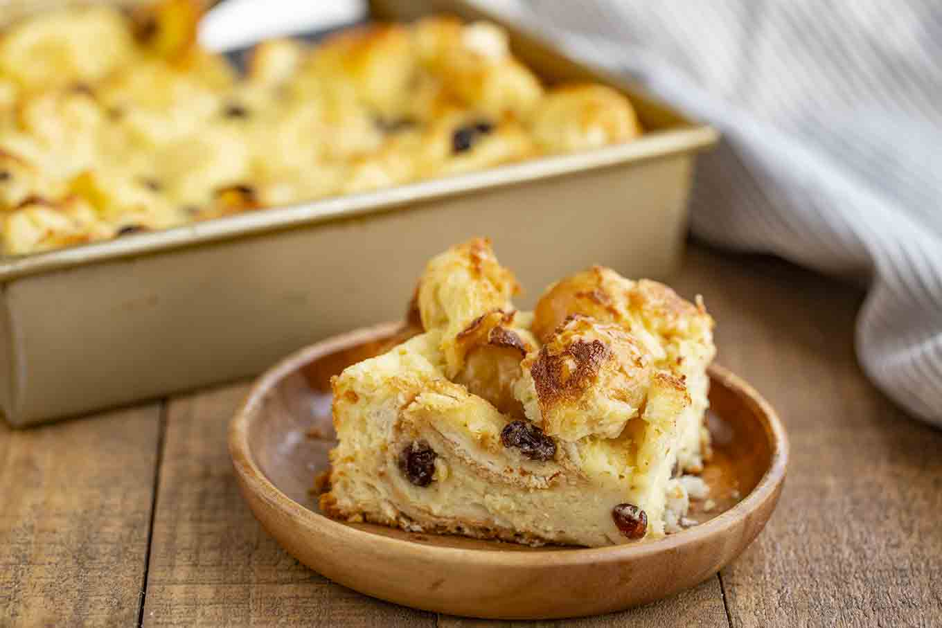 Bread Pudding - Dinner, then Dessert