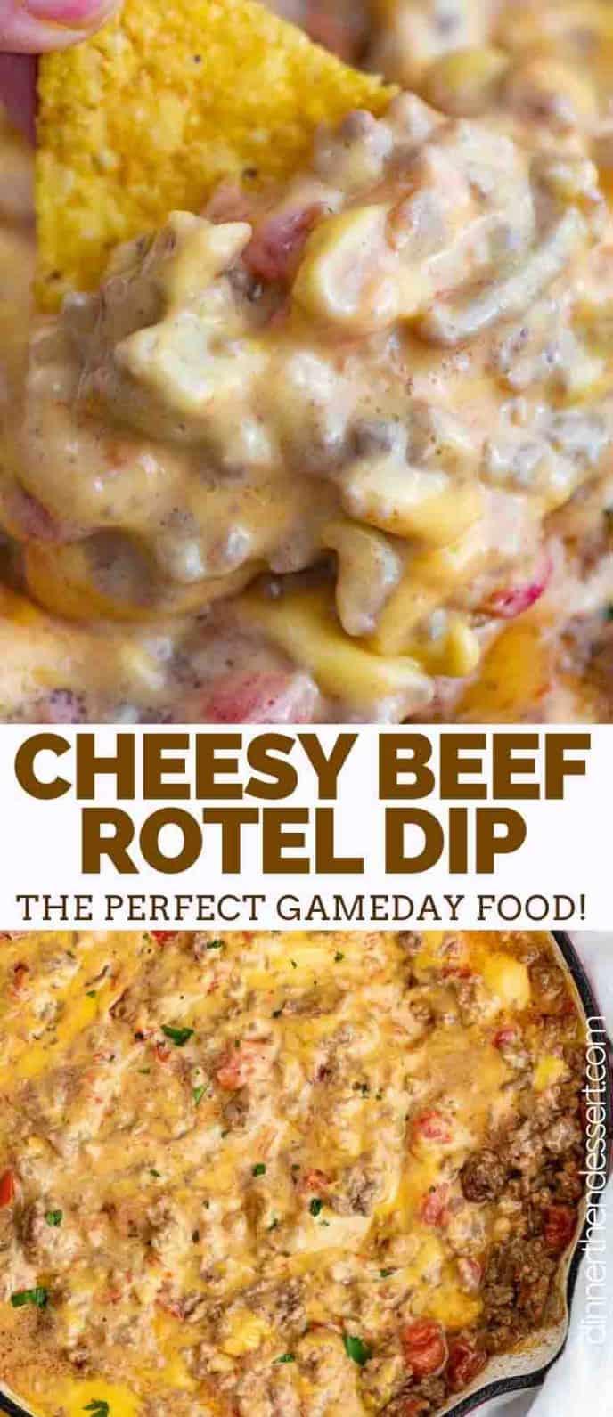 cheesy rotel dip