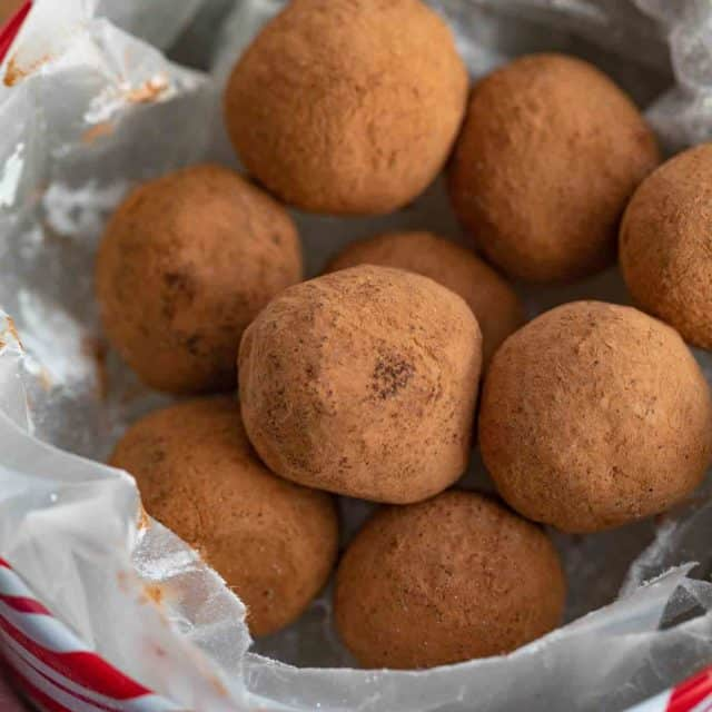 Cocoa Chocolate Truffles