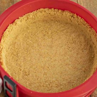 Three Ingredient Graham Cracker Crust