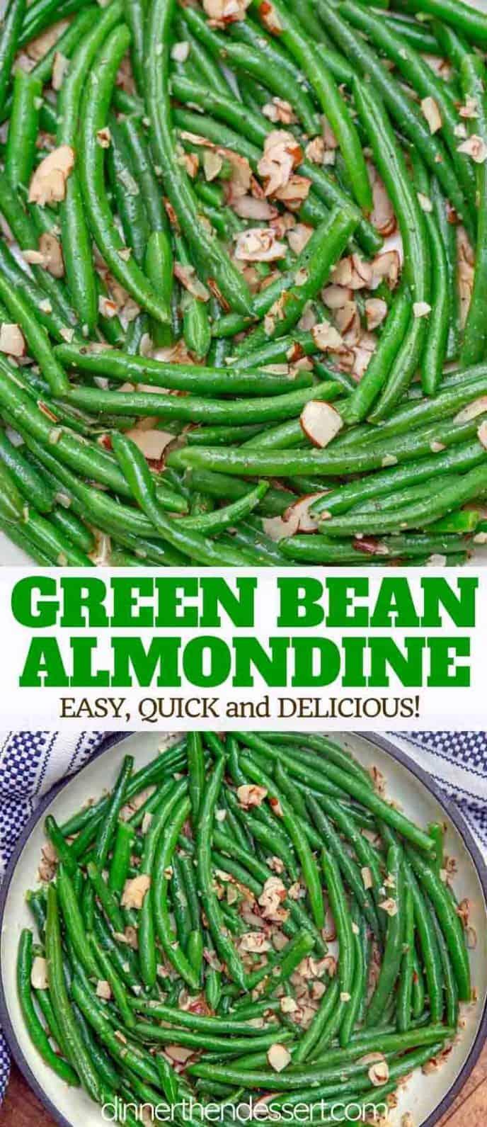 Easy Green Bean Almondine