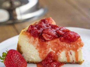 New York Cheesecake Slice