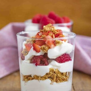 Yogurt and Berry Parfait