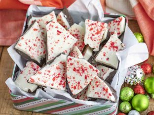 Peppermint Bark Candy