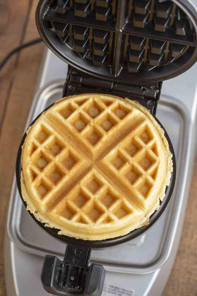 Belgian Waffle in Belgian Waffle Maker