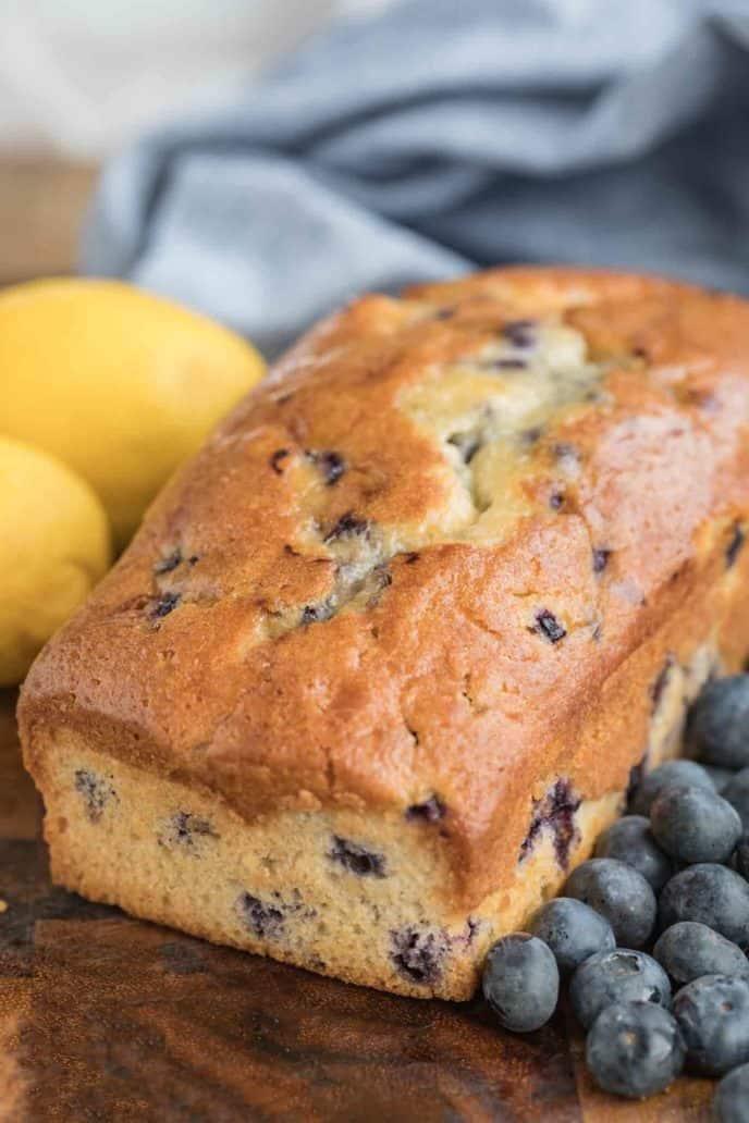 Blueberry Lemon Bread Dinner Then Dessert