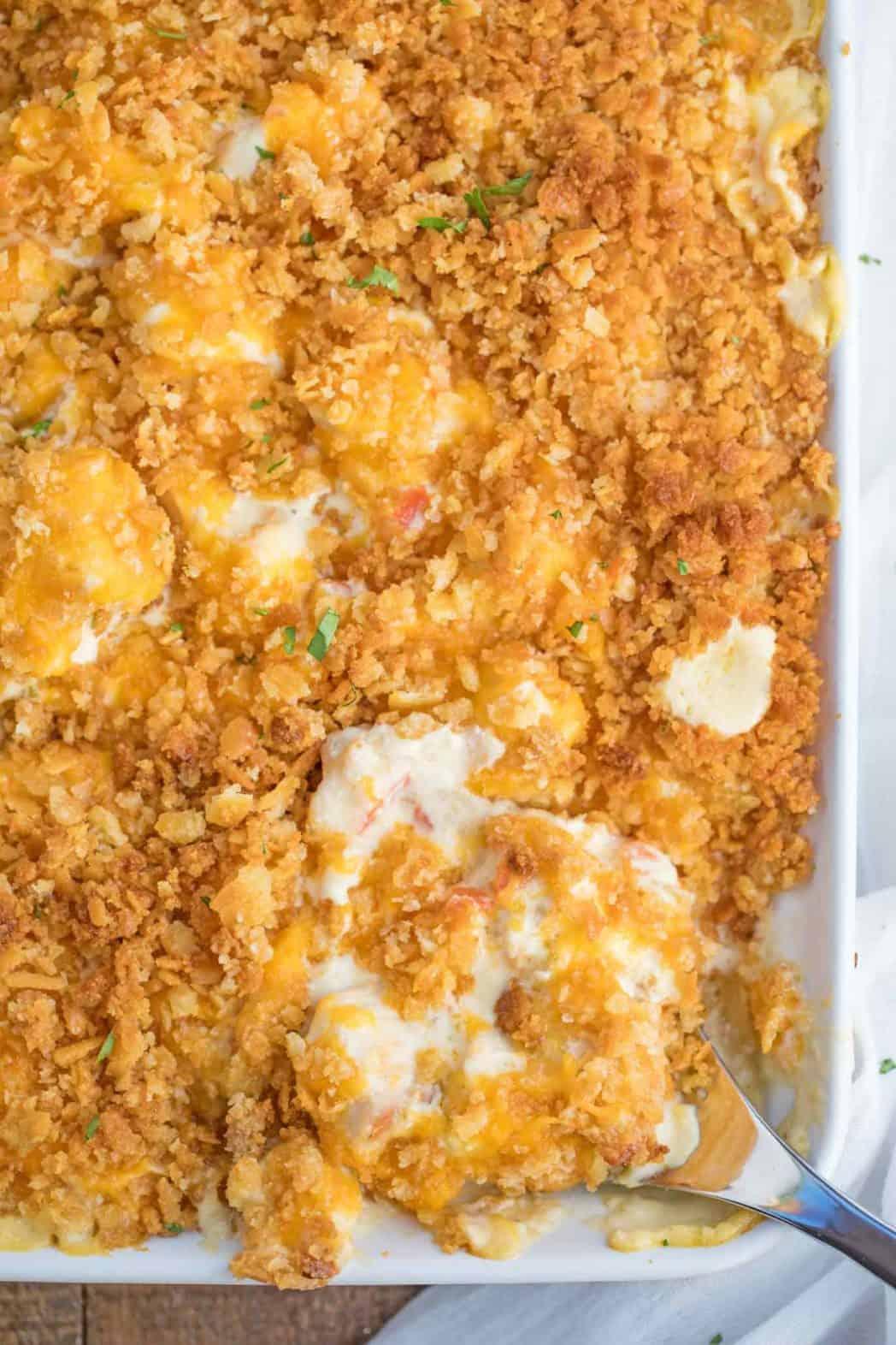 Easy Chicken Casserole Dinner Then Dessert