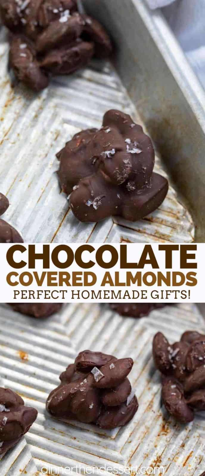 Chocolate Almonds with Sea Salt
