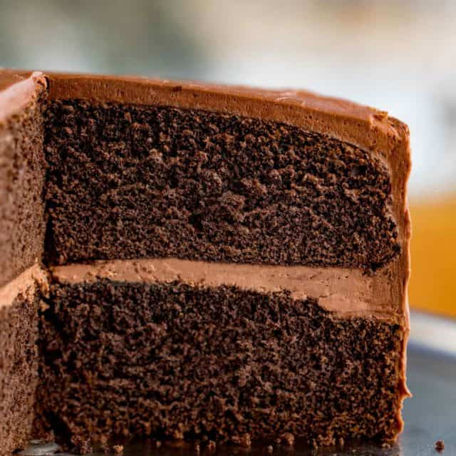Chocolate Cake with Chocolate Frosting