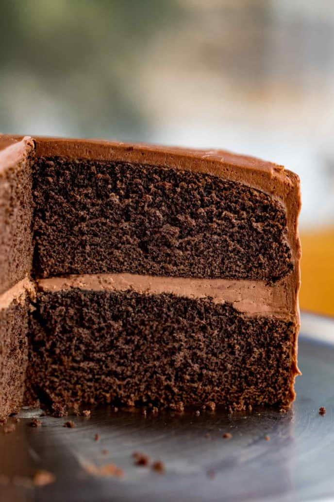 Easy Chocolate Cake Dinner Then Dessert