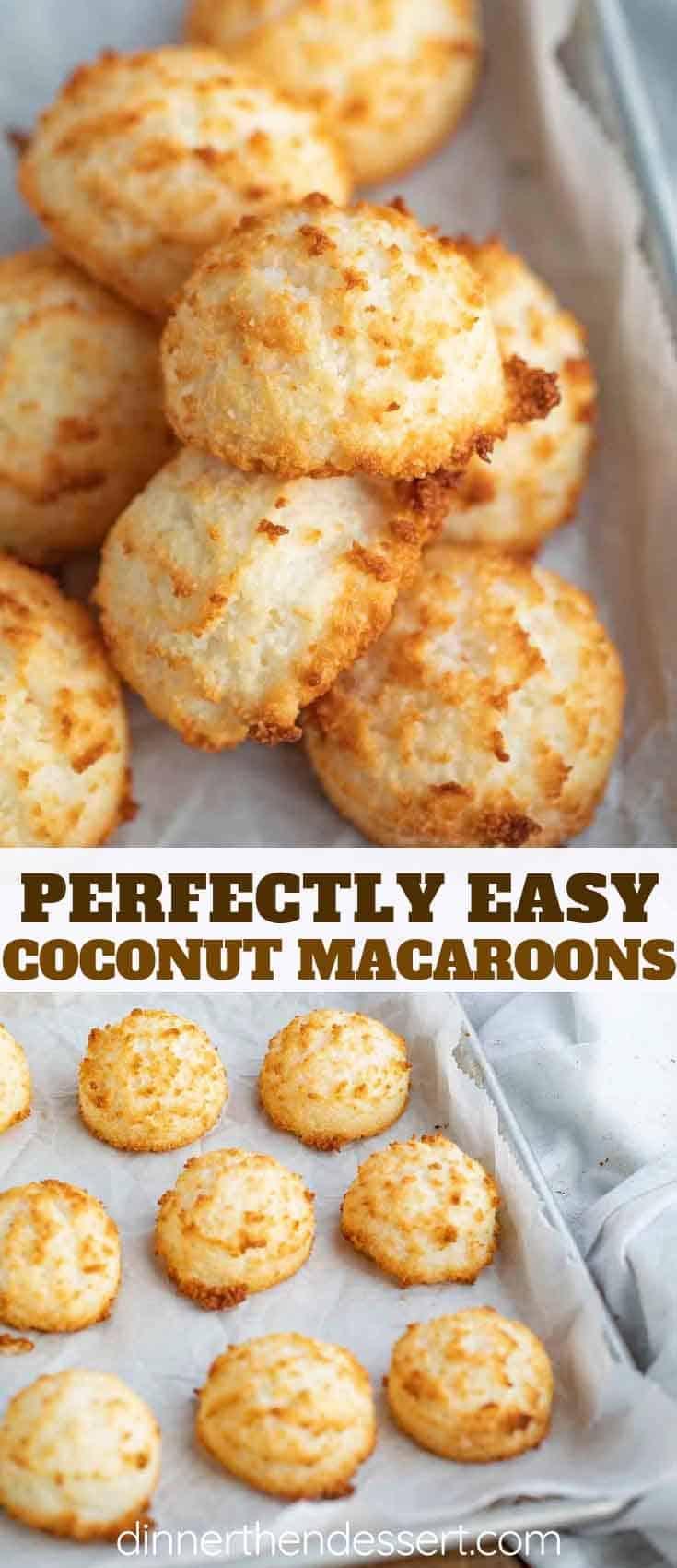 Coconut Macaroons Dinner Then Dessert