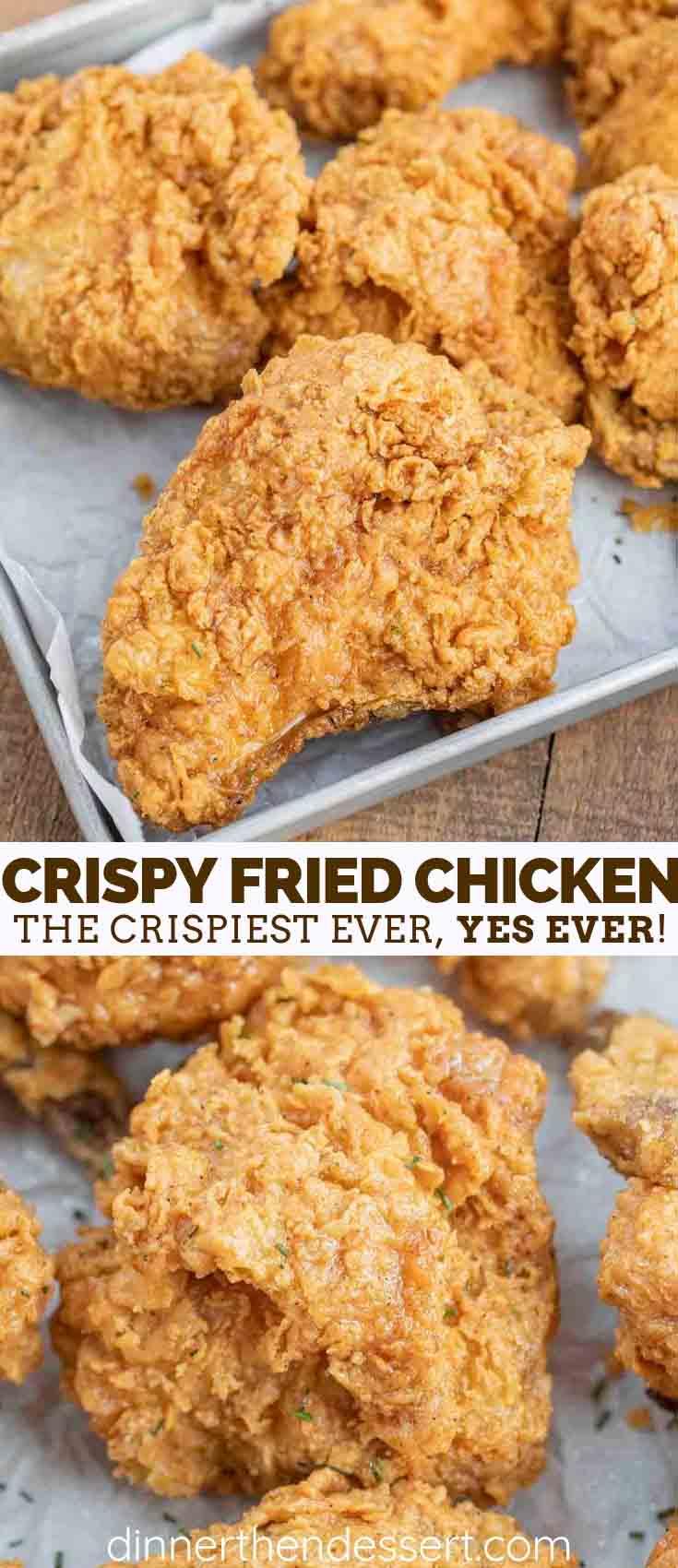 Super Crispy Fried Chicken - Dinner, then Dessert