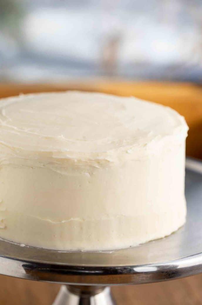 Cream Cheese Frosted Red Velvet Cake