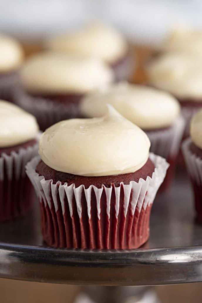 Classic Red Velvet Cupcake