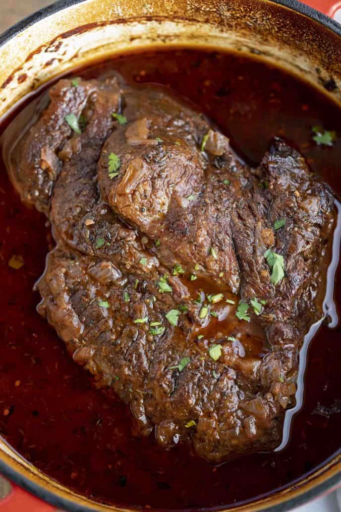 Red Wine Pot Roast