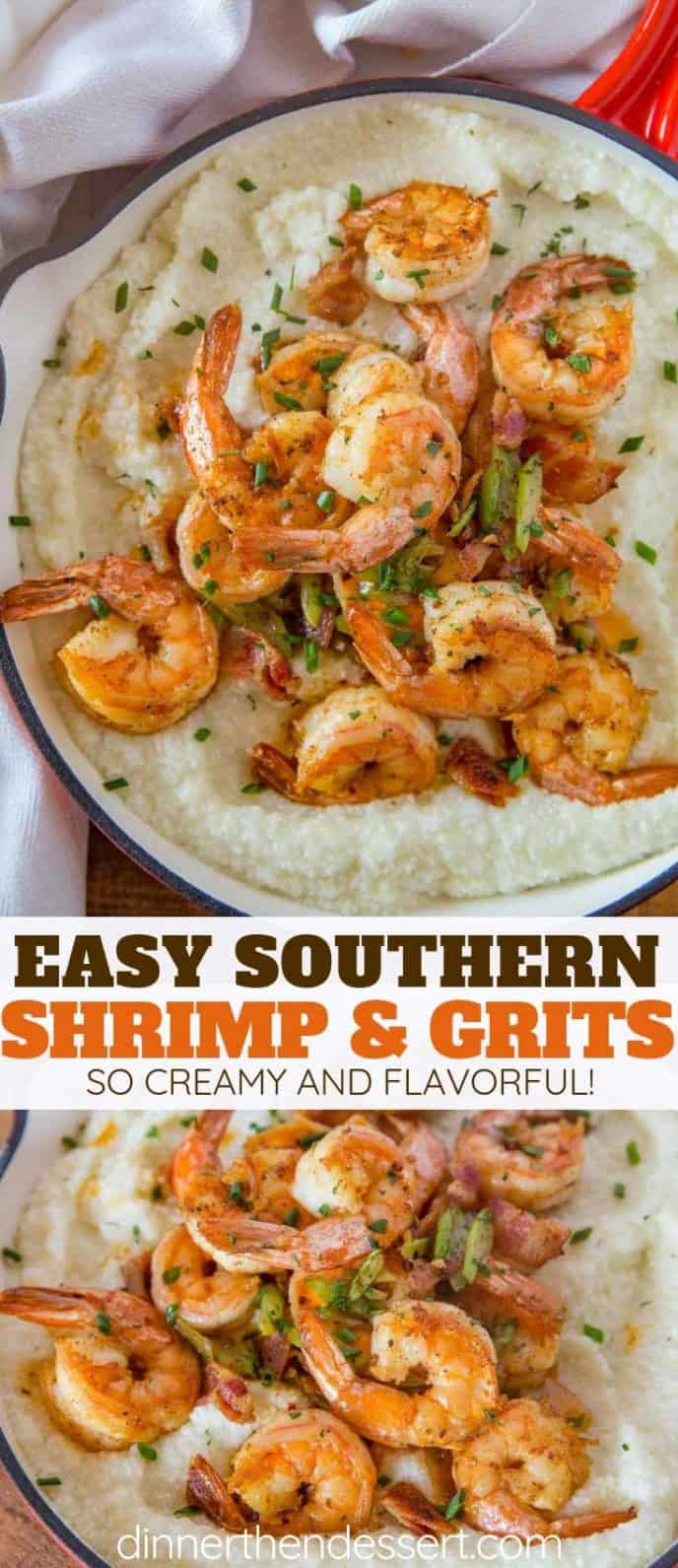 Easy Flavorful Shrimp and Grits