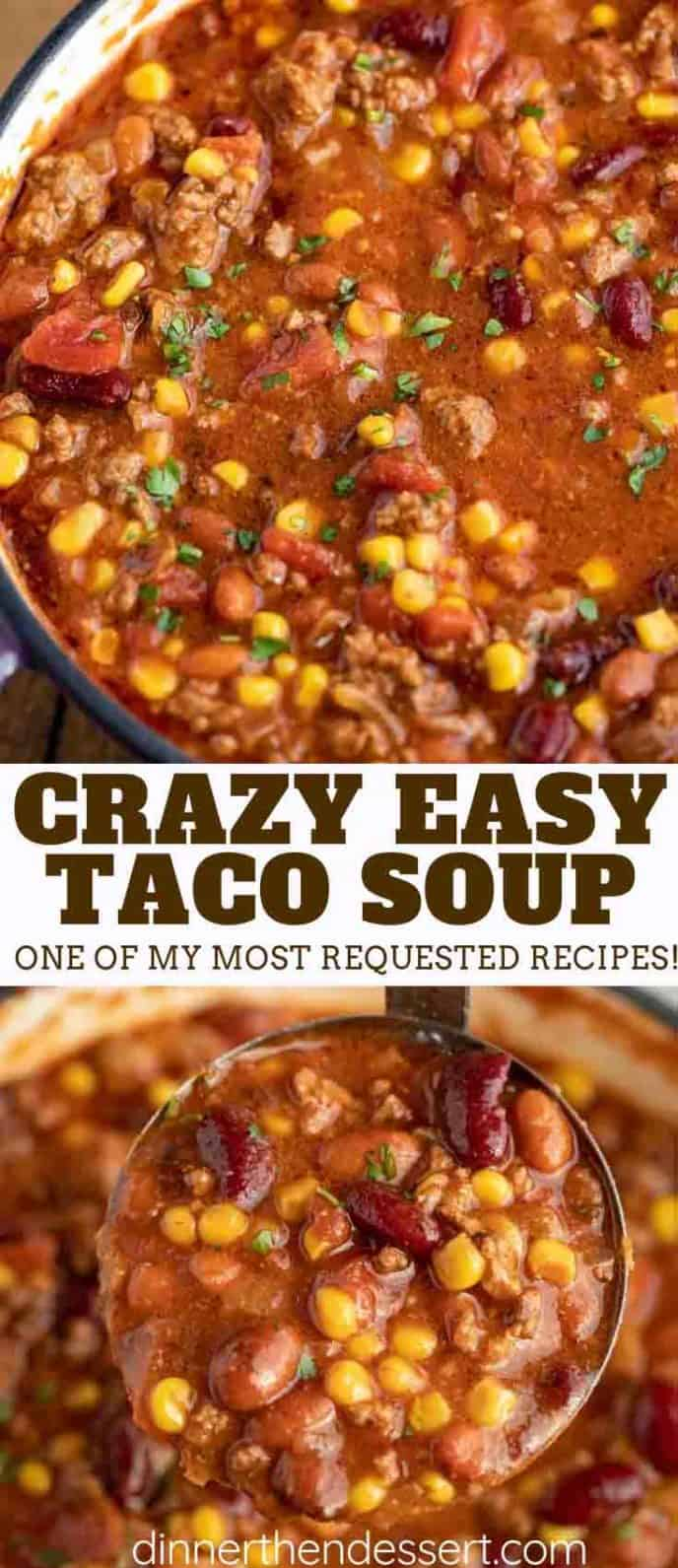 Canned Beans in Taco Soup Recipe