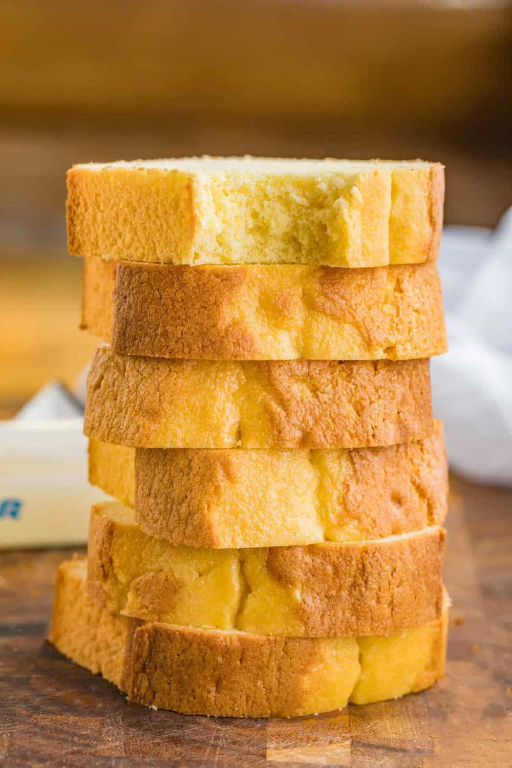 Vanilla Pound Cake - Dinner, then Dessert