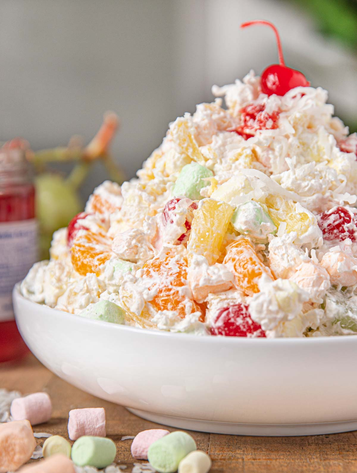 Fruit Cocktail Marshmallow Salad