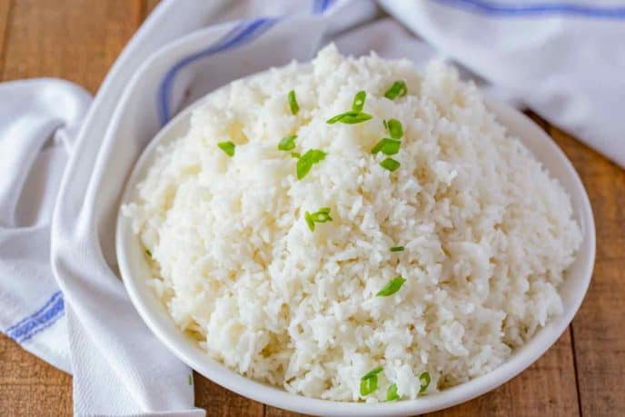 Chinese Steamed Rice