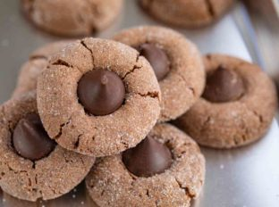 Hershey's Chocolate Kiss Cookies