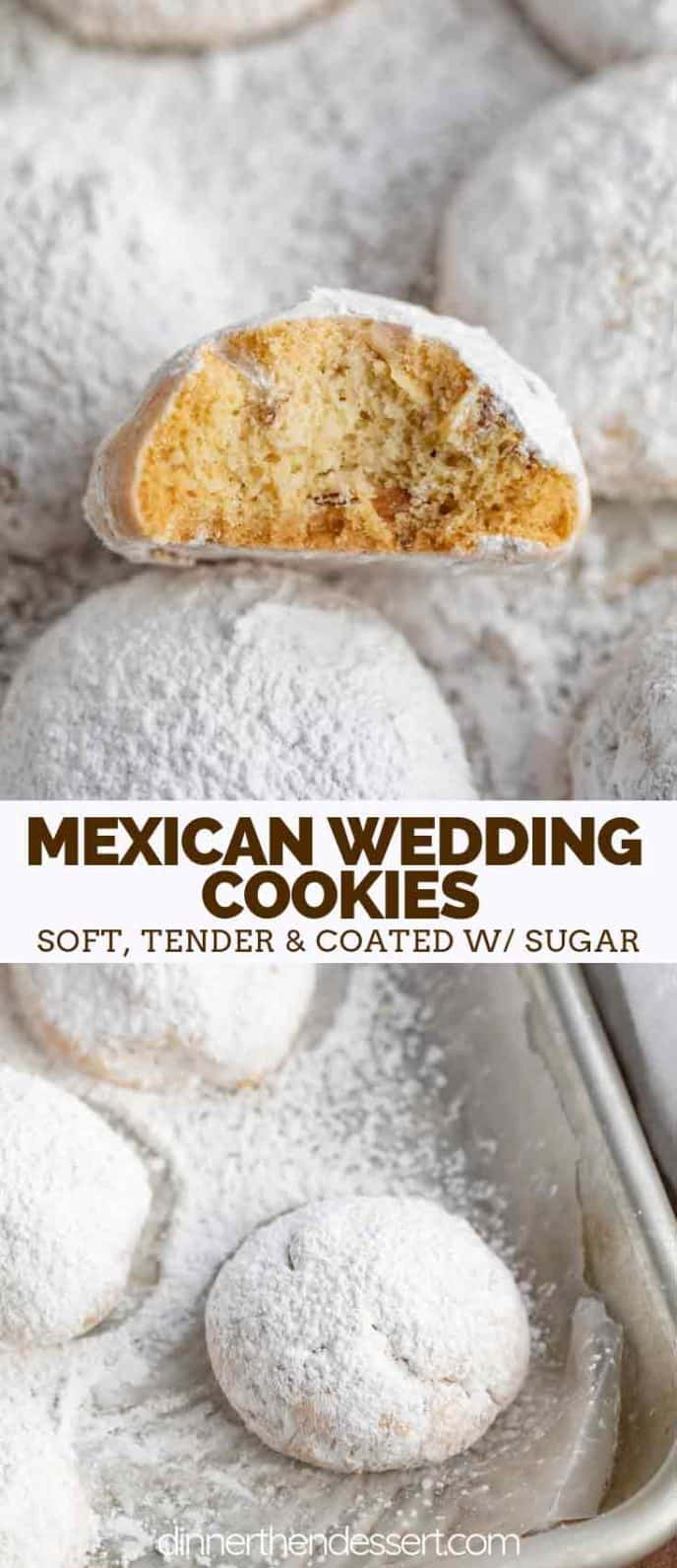 Mexican Wedding Cookies with Pecans